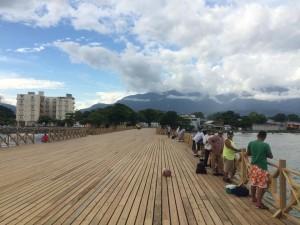 Avanzan los trabajos de remodelacion del muelle fiscal de La Ceiba