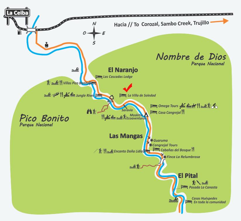 Cangrejal River Hotel