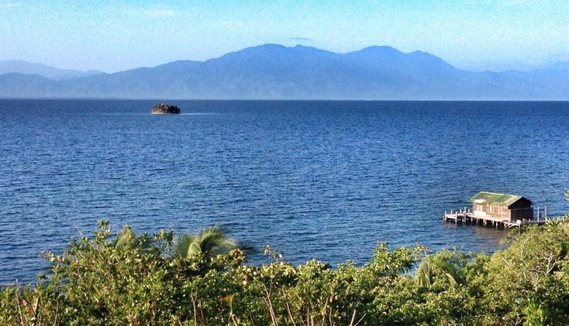Nombre de Dios National Park as seen from Cayos Cochinos