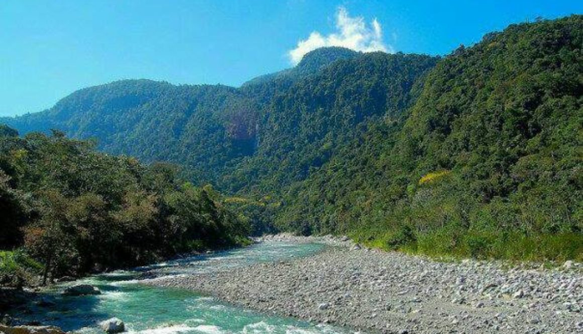 The Cangrejal River is born from some of the densest tropical rain forests in Central America