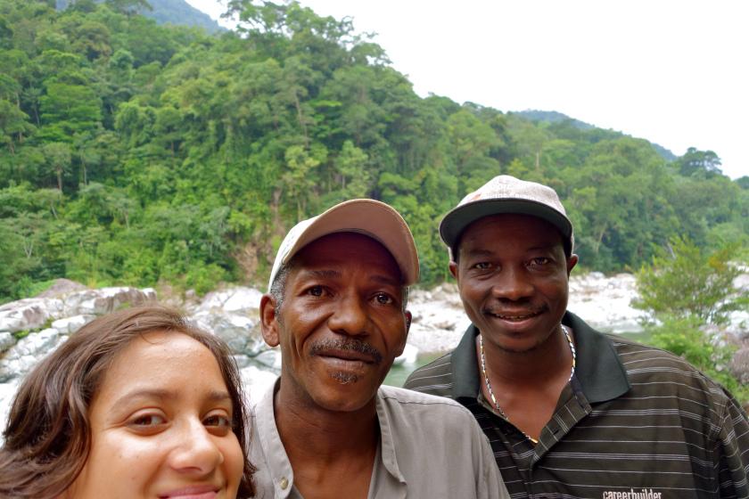 backpacking in Honduras