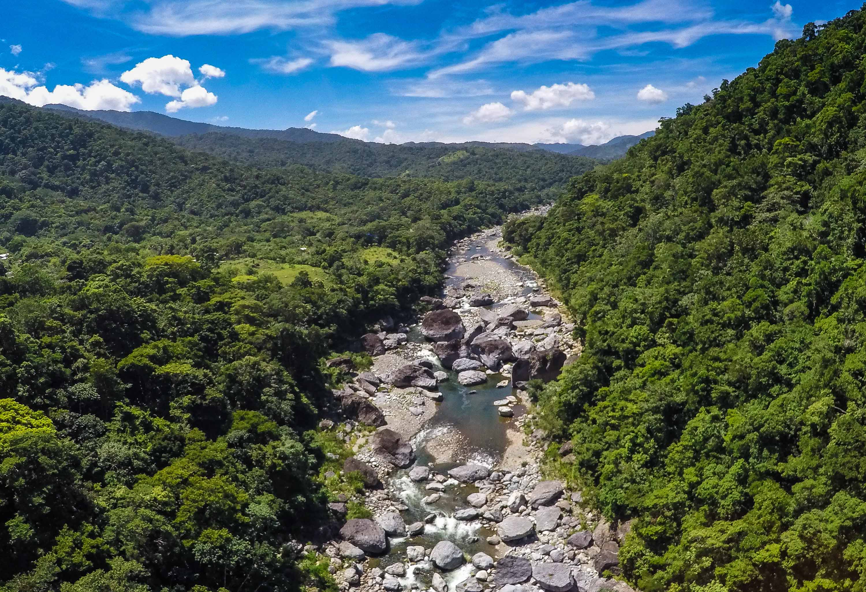 Cangrejal River: how do I get there?