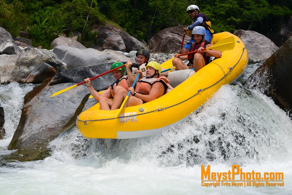 about rafting in Honduras